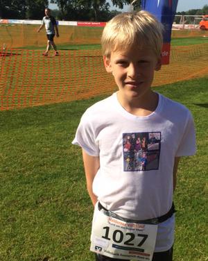 Laufen und Spenden ist Finn Filip eine Herzensangelegenheit