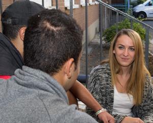 Flüchtlingsbetreuerin war selbst mal Flüchtling