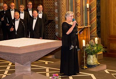 Marian Hageman führte durch die Veranstaltung (Foto: Frithjof Nowakewitz)