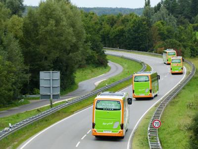 Mit dem Bus nach Amsterdam oder Wien