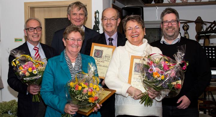 Pfarrcäcilienchor ehrt langjährige Mitglieder