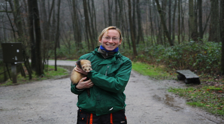 Sandra Kühn ist die neue Tierpflegerin