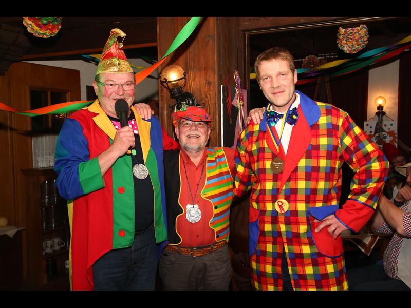 Udo von Vorst (rechts) erhielt den Ehrenorden des MGV