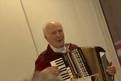 Günter Rösen sorgte für den guten Ton