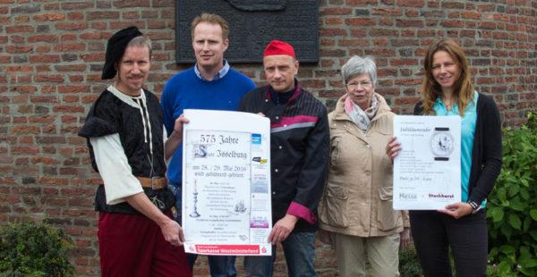 Von links: Jürgen Hesse, Steffan Daniels, Heino Hormann, Angela Zimmermann, Tina Schumacher