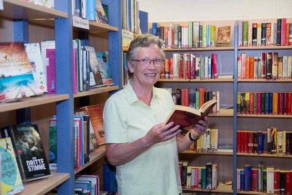 Bücherei-Urgestein geht in den Ruhestand