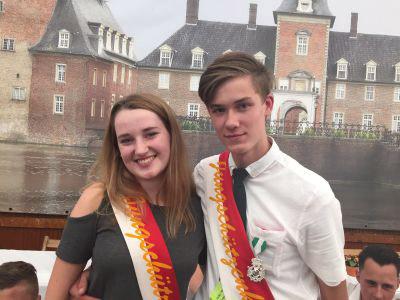 Roman Hakvoort und Anna Ragas regieren bei den Jungschützen (Foto: Privat)