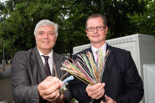 Telekom startet Vectoring-Ausbau in Isselburg