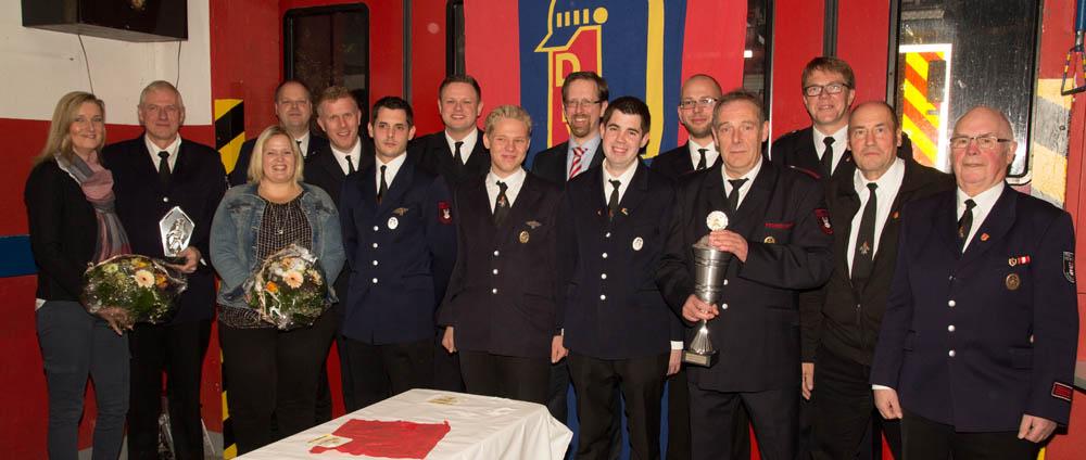 Ehrungen, Auszeichnungen und ein Feuerwehrmann des Jahres