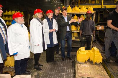 Bundestagsabgeordnete Ursula Schulte besuchte Isselburger Hütte
