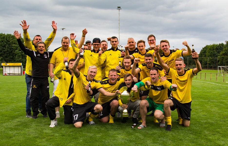 FC Heelden ist Fußballstadtmeister in Isselburg