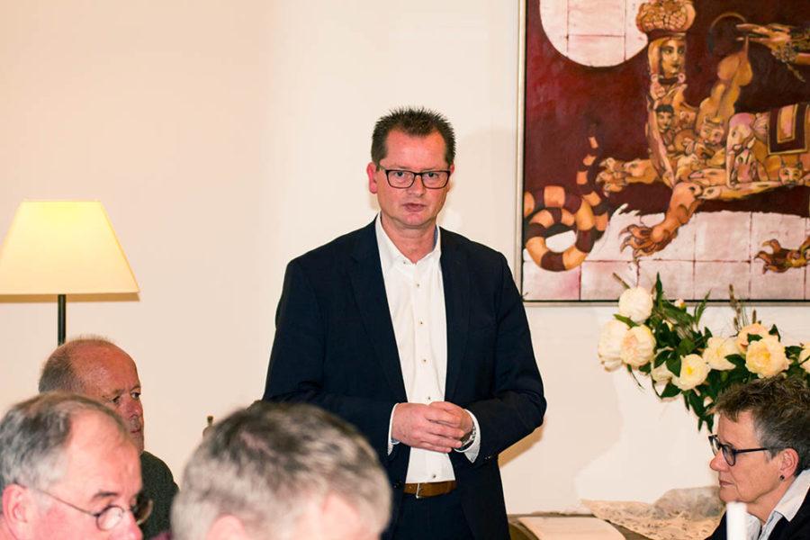 GroKo und Bürgermeisterkandidat Carbanje standen im Mittelpunkt bei der SPD-Versammlung