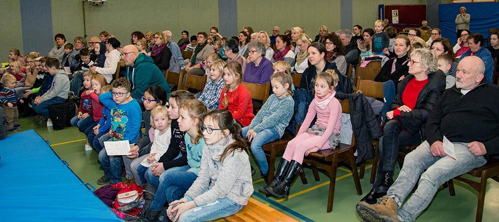 140 Besucher beim Kindertheater in Anholt