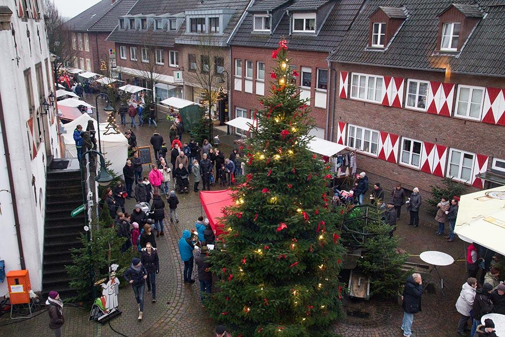 Weihnachtswochenende in Alt-Isselburg, Heelden und Anholt