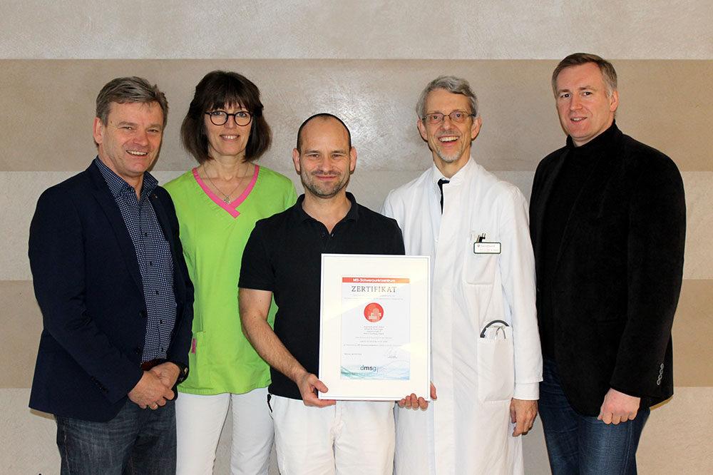 Erneute Auszeichnung für das Anholter Augustahospital