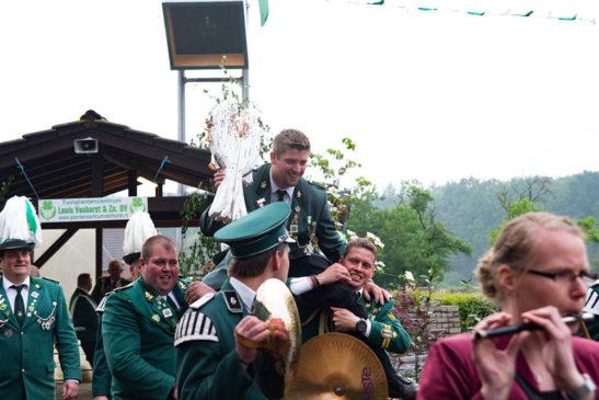 Christoph Epping ist neuer Schützenkönig in Vehlingen
