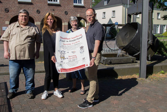 """Isselburger Stadtfest ist """"Fest in Kinderhand"""""""