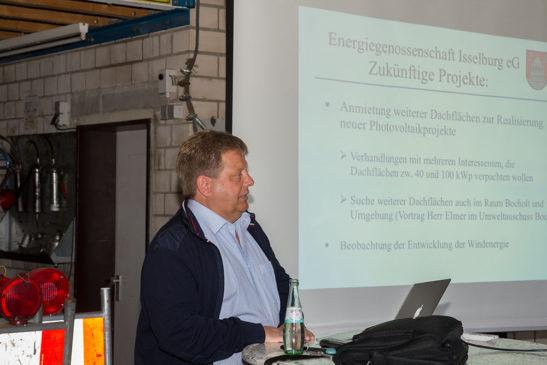Info-Veranstaltung der Energiegenossenschaft Isselburg