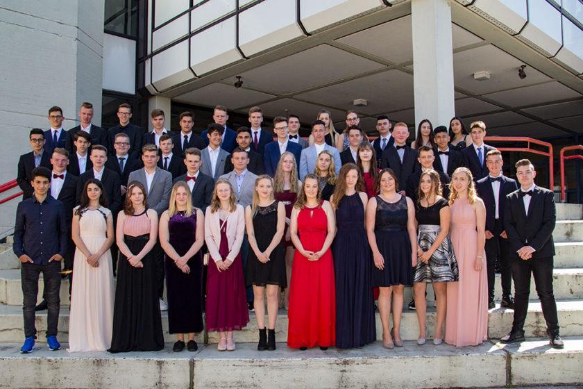 57 Schüler und Schülerinnen feierten ihren Schulabschluss