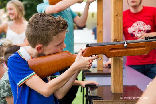 Königlicher Besuch beim Vehlinger Kinderschützenfest