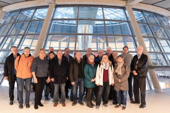 Isselbuger Reisegruppe besuchte den Bundestag
