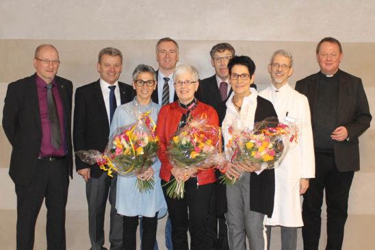 Augusthospital ehrt langjährige Mitarbeiterinnen