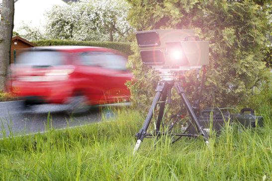 Polizei kündigt Geschwindigkeitskontrollen nicht mehr an