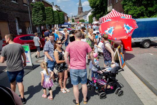 Trotz Hitze war das 28. Stadtfest ein Publikumsmagnet