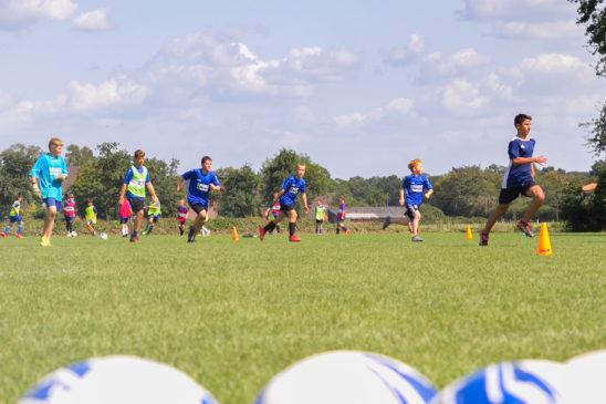 Fußballschule für 45 Nachwuchskicker
