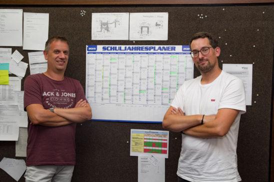 Frank Milius und Frederick Hamm leiten die Hauptschule Isselburg