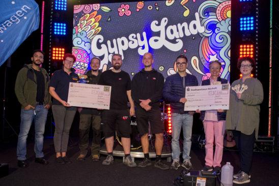 GypsyLand spendete 10.000 Euro für soziale Zwecke