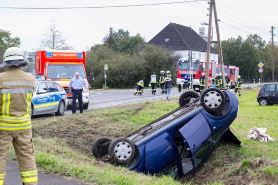 Isselburgerin verursachte Verkehrsunfall