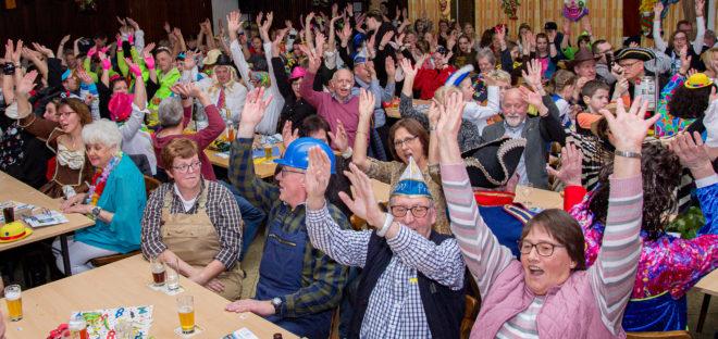 Narren erobern am kommenden Samstag die Bürgerhalle Herzebocholt