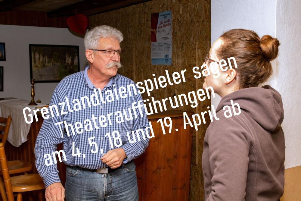 Anholter Grenzlandlaienspieler sagen Theateraufführung ab