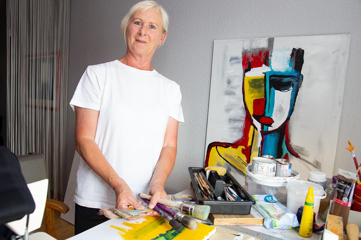 Wie Ilona Vüllings die Liebe zur Malerei entdeckte