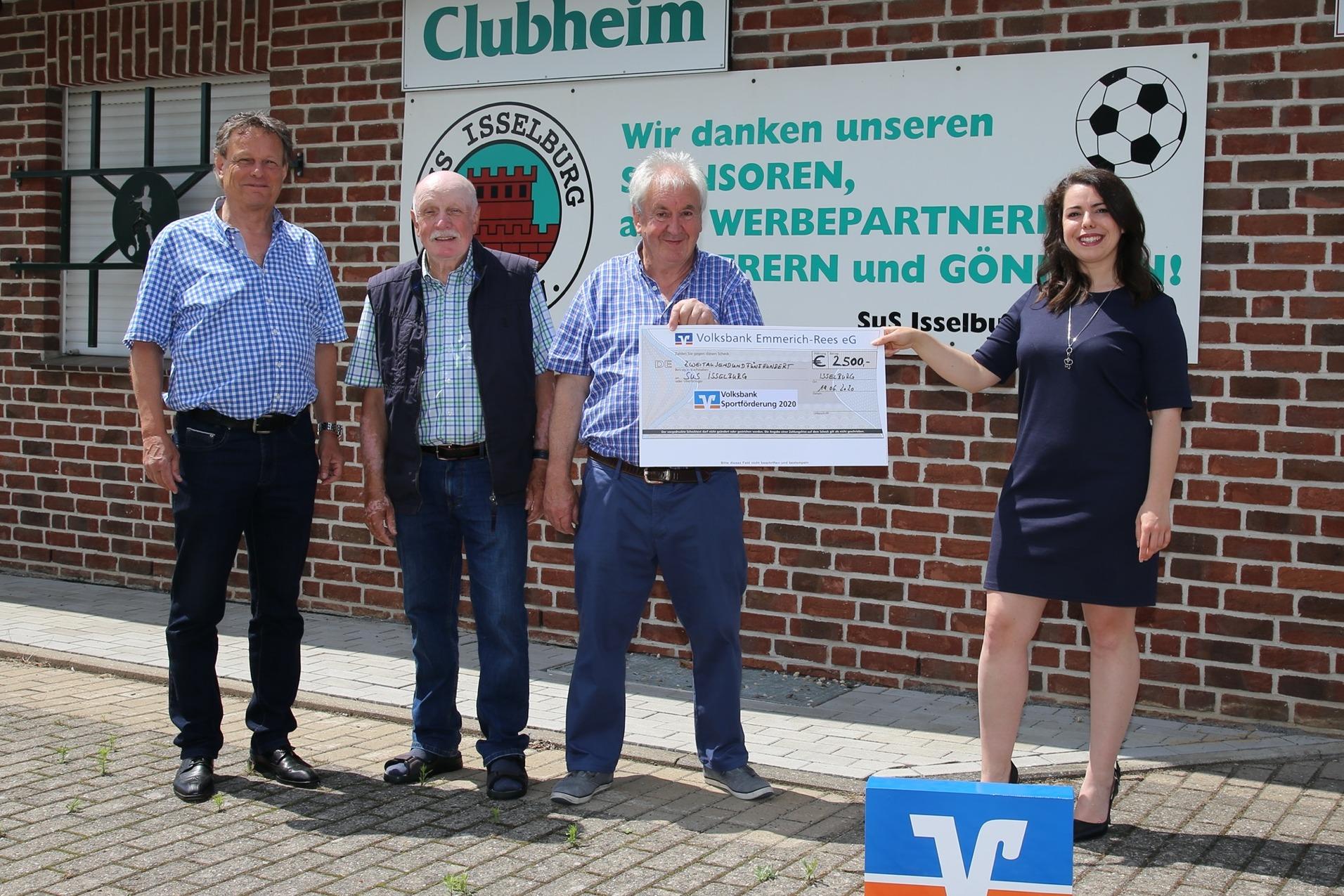 Finanzielle Unterstützung für den SuS Isselburg