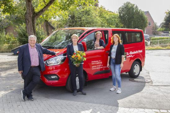 Bewohnergerechtes Auto für das Elisabeth-Haus in Isselburg
