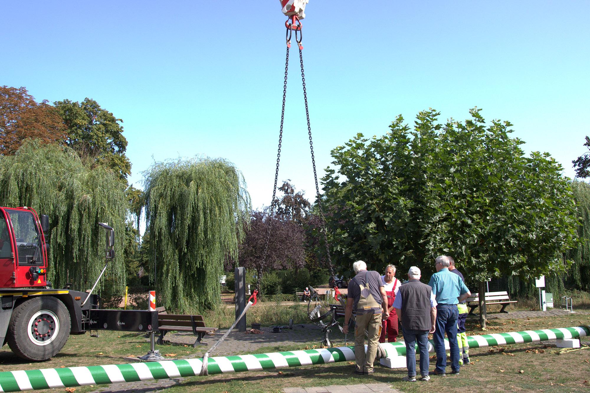Isselburger Heimatkreis stellt neuen Ständebaum auf