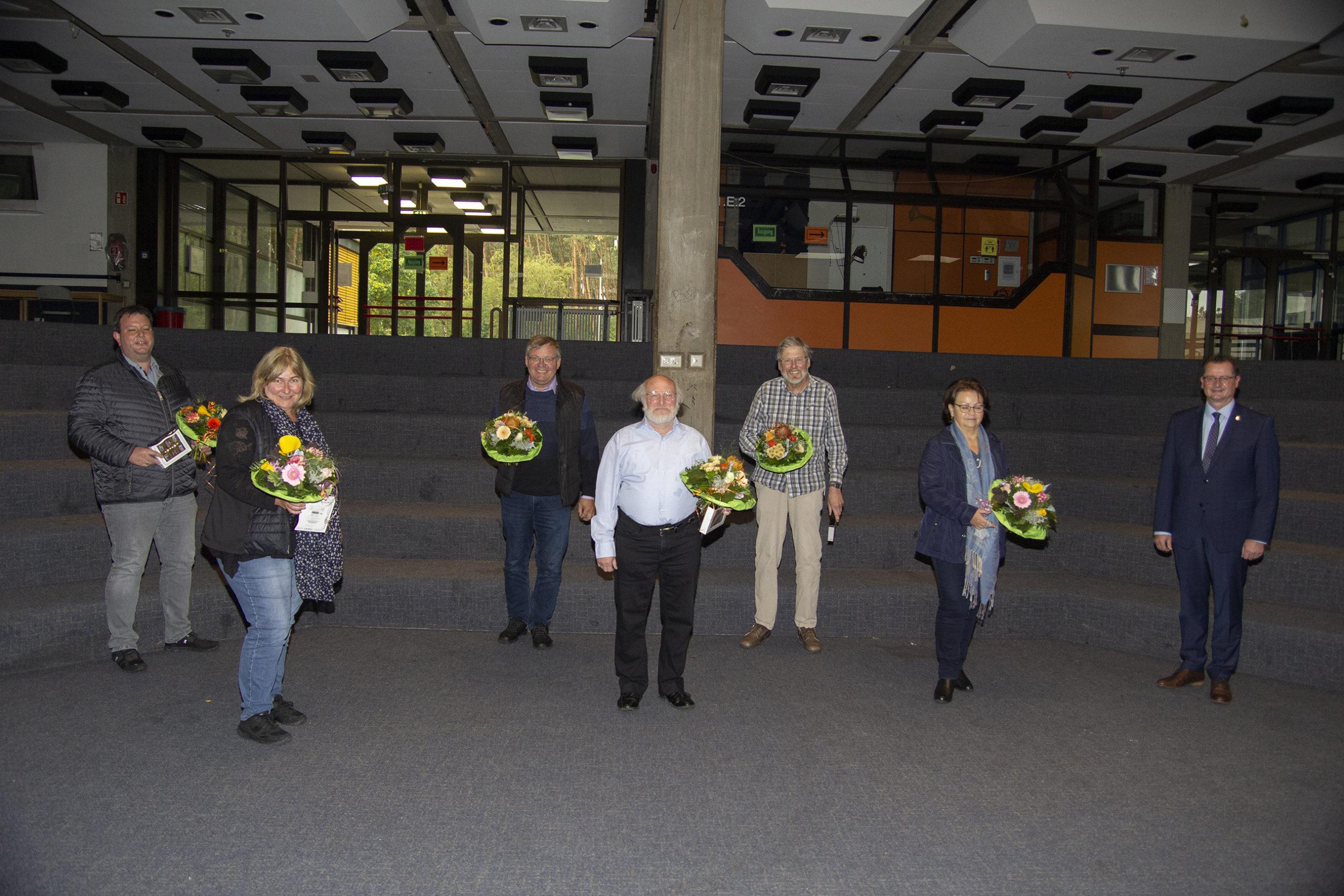 Bürgermeister verabschiedete sieben ausscheidende Ratsmitglieder