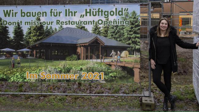 Auf dem Gelände der Anholter Schweiz entsteht ein neues Restaurant