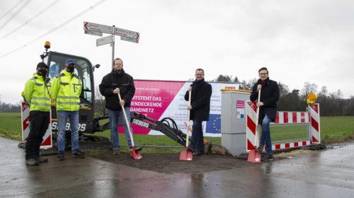 Telekom startet mit Glasfaserausbau in Vehlingen