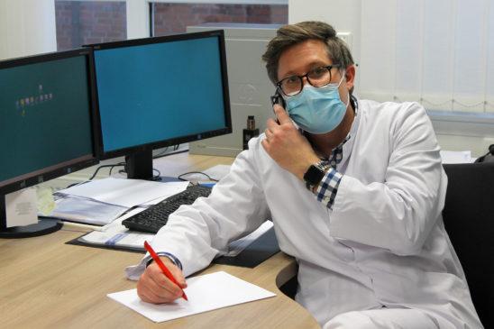 Telefonaktion des Augusthospitals wurde positiv aufgenommen