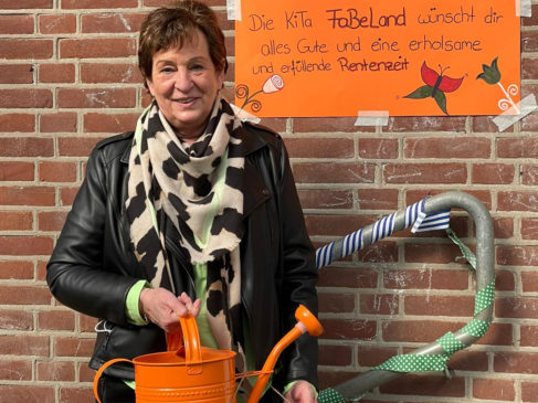 Kita-Leiterin Bernadette Jormann geht in den Ruhestand