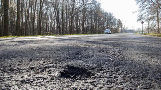 Landstraße zwischen Anholt und Vehlingen wird vorläufig nicht saniert